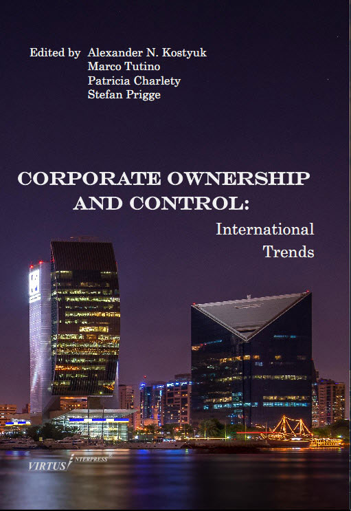 Call for chapters: Corporate Ownership and Control: international trends