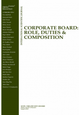 Corporate Board: role, duties and composition journal. The best reviewer reward 2017